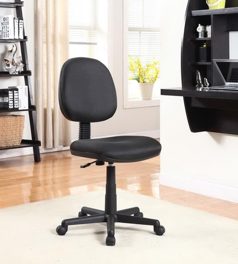 HOME OFFICE  CHAIRS  Casual Black Office Chair With