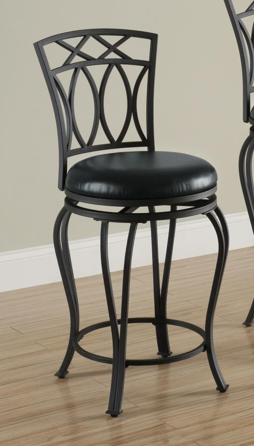 BAR STOOLS METAL SWIVEL COUNTER HT CHAIR 122059 Bar Stools Price Busters Furniture