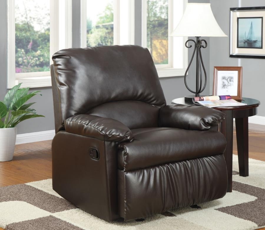 LIVING ROOM  GLIDERS RECLINER  Casual Brown Glider