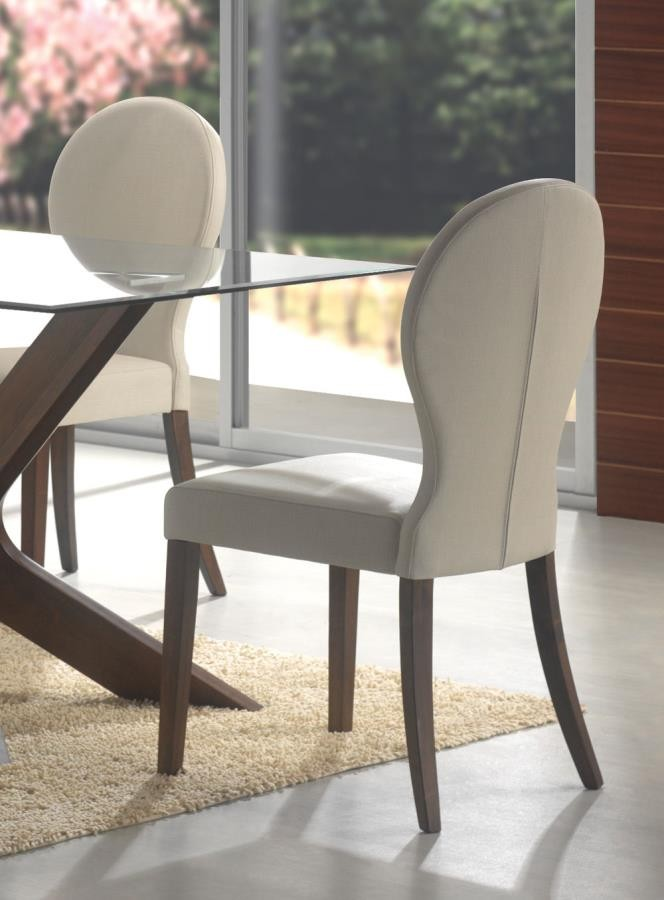 guitar shaped chair stairway lift san vicente collection dining pack of 2 120362 side chairs griffin s furniture outlet ca