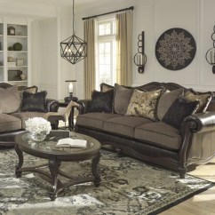 Living Room Loveseat Images Of Nice Rooms Winnsboro Durablend Vintage Sofa 55602 38 35