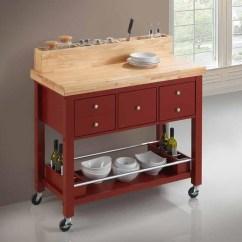 Kitchen Carts Sink Black Dining Island 102667