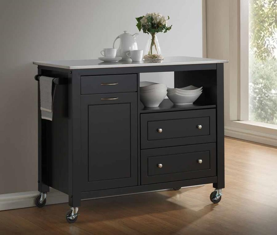 kitchen carts pull down faucet reviews dining island 102668
