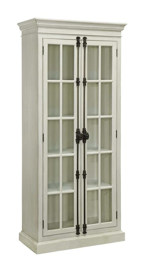 TALL CABINET 910187 Curio Cabinets Price Busters