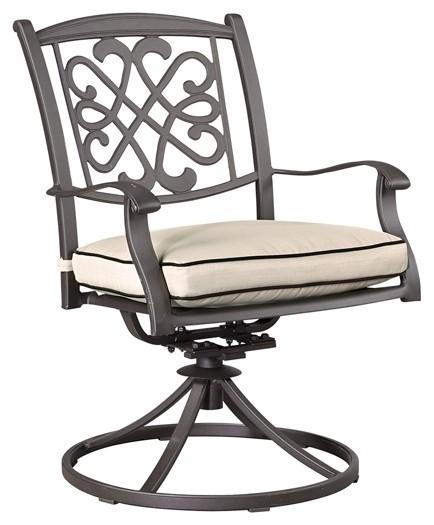 swivel chair office warehouse large bean bag chairs cheap burnella brown w cushion 2 cn p456 602a