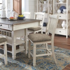 Antique White Living Room Tables Makeovers Bolanburg Rect Dining Counter Table D647 32