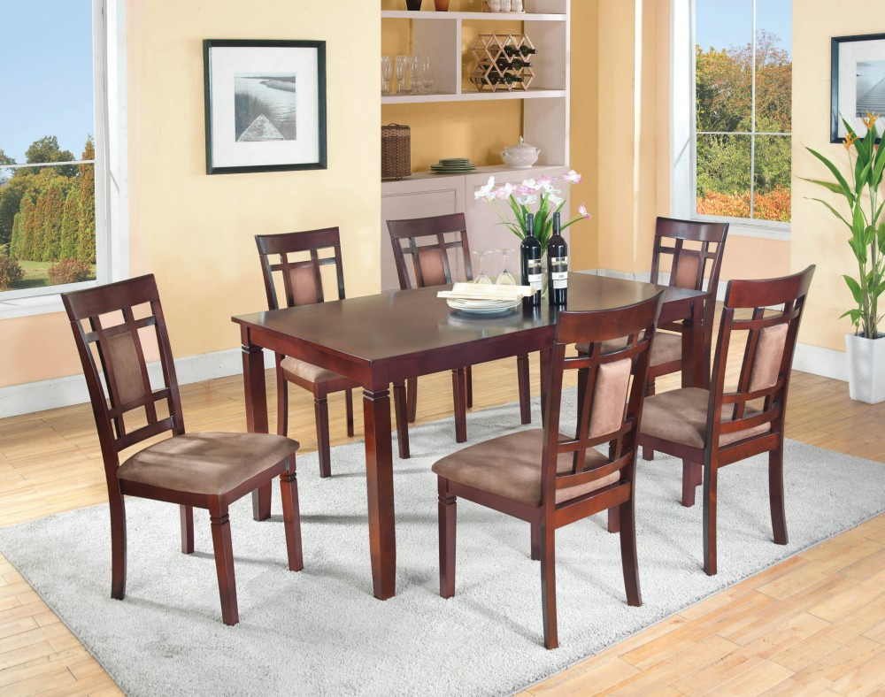 Table And 6 Chairs D3333 GTB Dining Room Groups