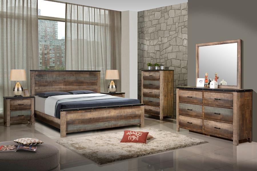 sembene bedroom collection sembene bedroom rustic antique multi color california king bed