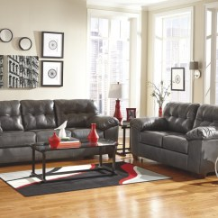 Durablend Sofa Leather Recliner Sets In India Alliston Gray Loveseat 20102 35 38 Living Room Groups Price Busters Furniture