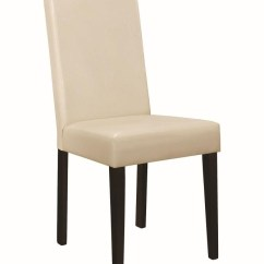Cream Upholstered Dining Chairs Gooseneck Rocking Chair Value Clayton Pack Of 2 102493 Griffin S Furniture Outlet Ca