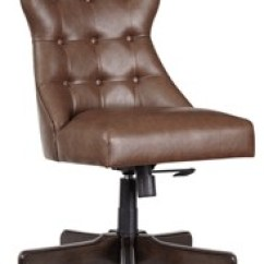 Home Desk Chairs How To Clean An Upholstered Chair Office Program Brown Swivel