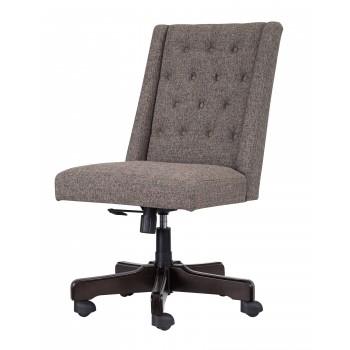 swivel chair office warehouse booster for toddler program brown home desk h200