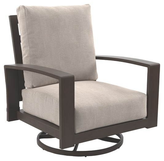 swivel lounge chairs dining room with wheels cordova reef dark brown chair 2 cn p645 821