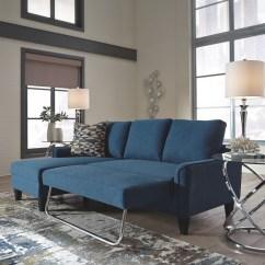 Essex Sofas Merton 3 Seater Corner Storage Futon Sofa Bed Fog Jarreau - Blue Queen Sleeper | 1150371 ...