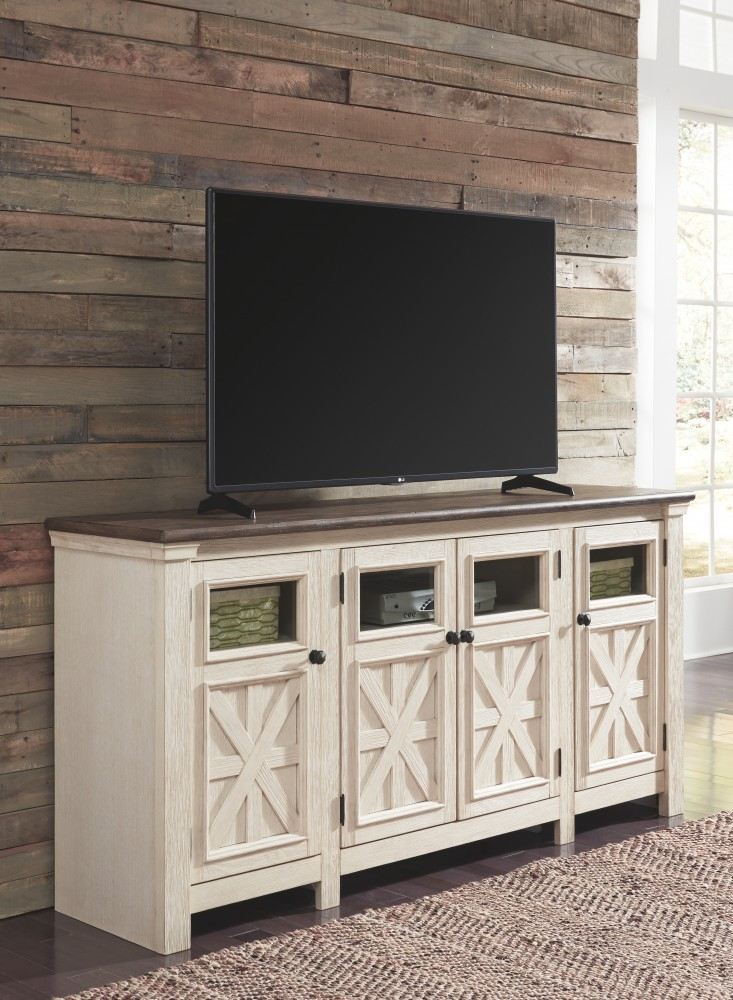 Bolanburg  Twotone  Extra Large TV Stand  W64760  TV
