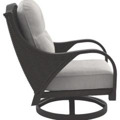 Swivel Lounge Chairs Muji Floor Chair Uk Marsh Creek Brown W Cushion 2 Cn P775 821