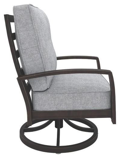 swivel lounge chairs egg desk chair castle island dark brown p414 821