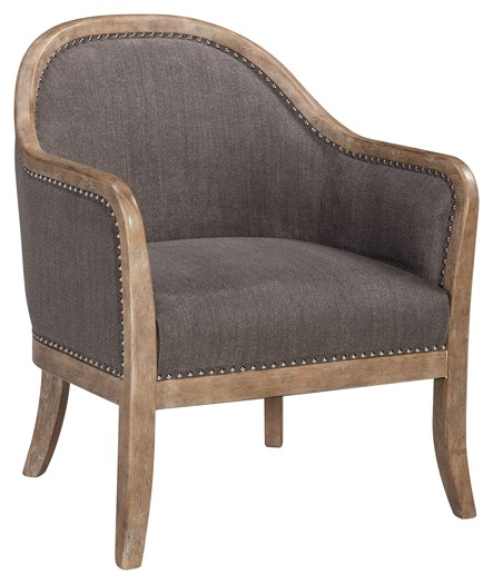 brown accent chairs wedding chair covers south yorkshire engineer a3000030 furniture markdowns