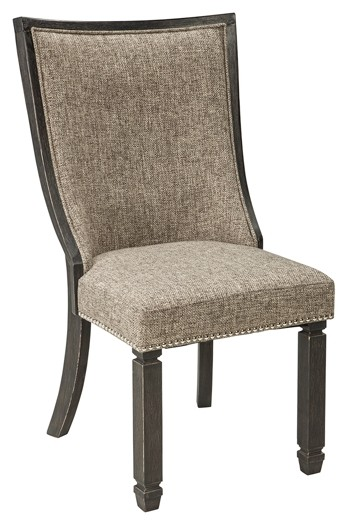 gray side chair used computer chairs tyler creek black dining uph 2 cn d736 02