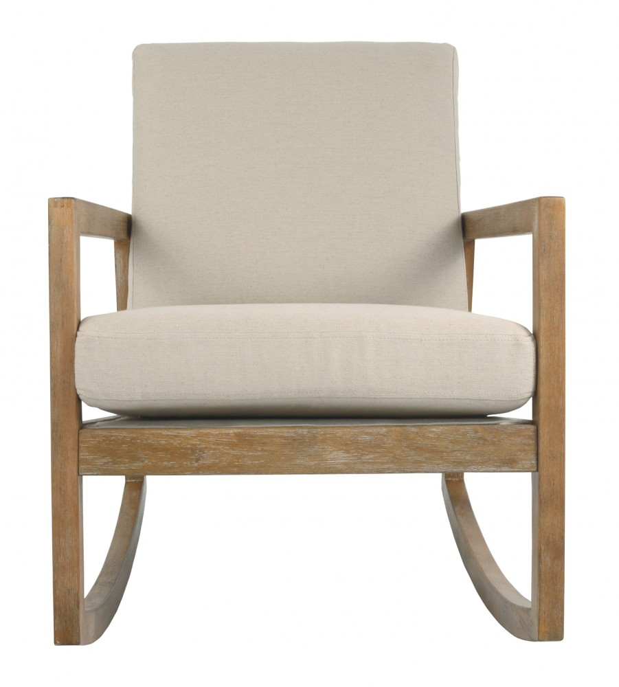Rocking Accent Chairs Novelda Neutral Accent Chair