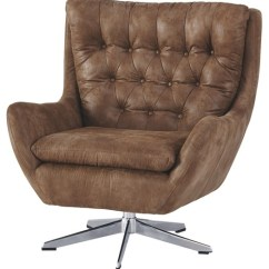 Brown Accent Chairs Memory Foam Kitchen Chair Pads Velburg A3000052 Furniture World