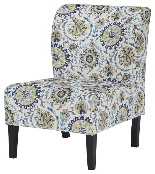 blue green chair zero gravity walmart triptis accent a3000068 chairs country
