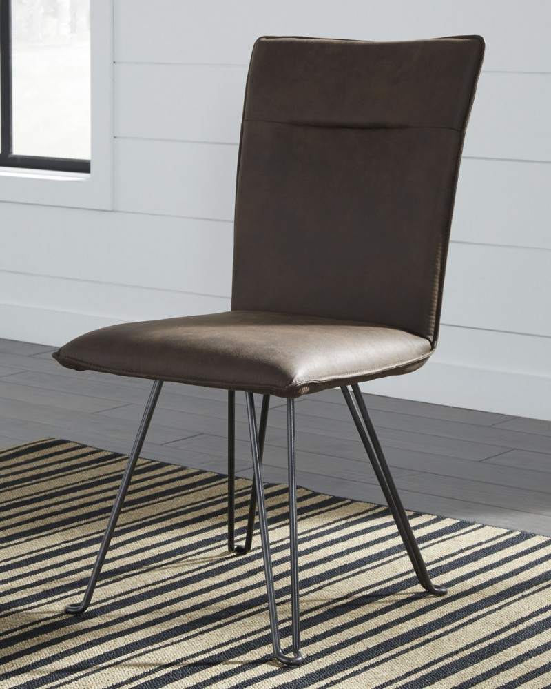 black side chair used knoll chairs moddano brown dining uph 2 cn