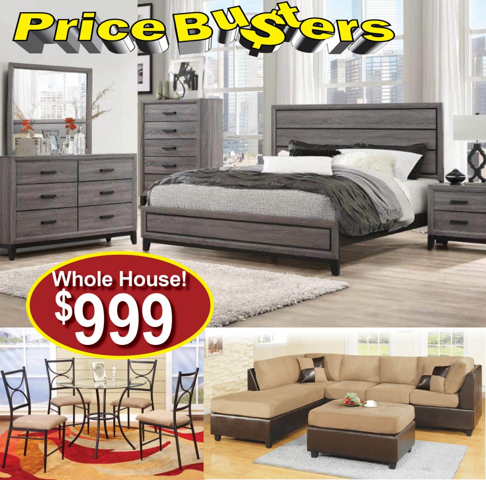 Another Whole House of Furniture Under 1000  Package 51  Dining Room Packages  Price