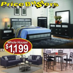 Living Room Package Black Red And Gold Decor Furnish Your Home For Under 1200 52 Packages Price Busters Furniture