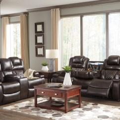 Living Room Reclining Sofas Best Pop Ceiling Design For Warnerton Chocolate Power Sofa Loveseat 75407 15