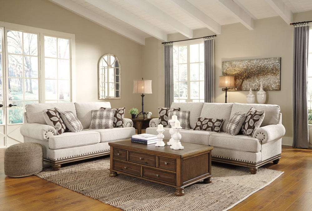 cheap furniture living room coffee table sets for harleson wheat sofa loveseat 15104 38 35