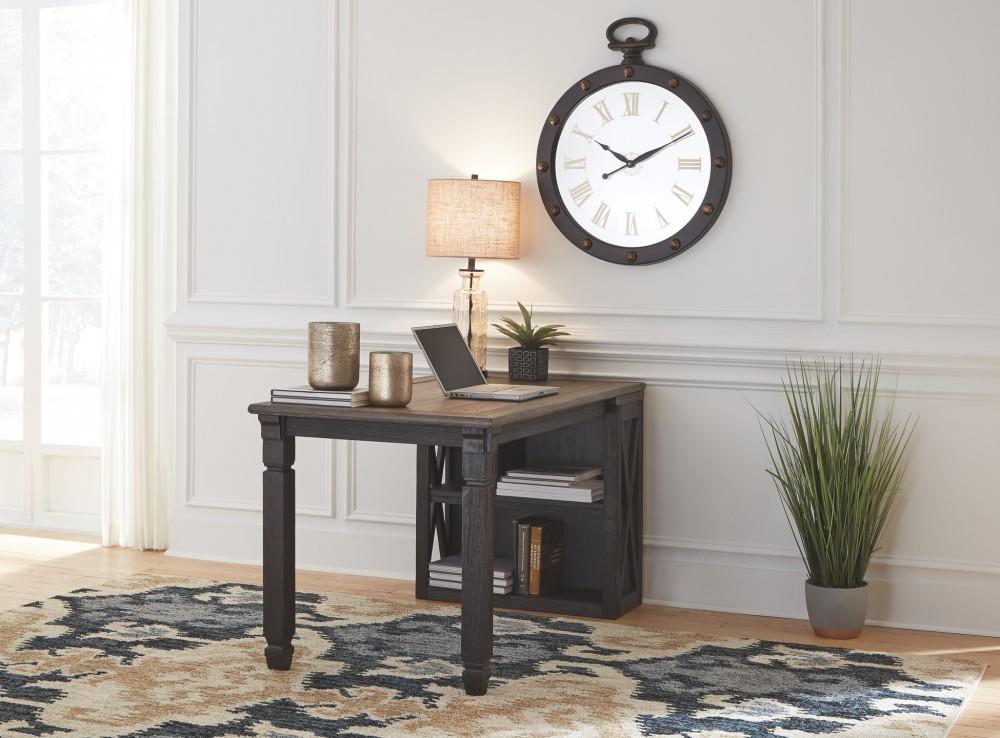 Tyler Creek Home Office Desk Return  H73614  Home