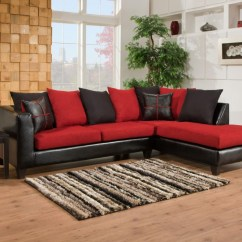 Sierra Red Living Room Sectional Modern Area Rugs For 4184 04 Groups Mattress
