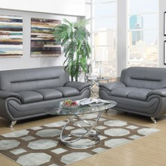 Gray Living Room Sets Western Ideas Sofa And Love 2702 Price Busters Furniture
