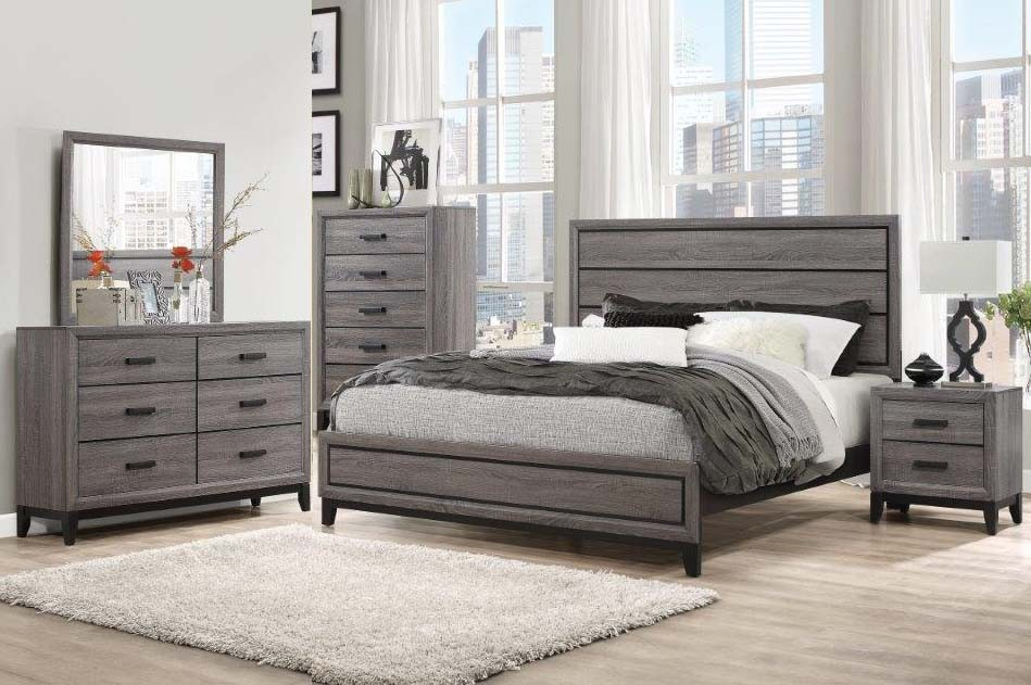 Kate Dresser Mirror Queen Bed @ PriceBusters Furniture