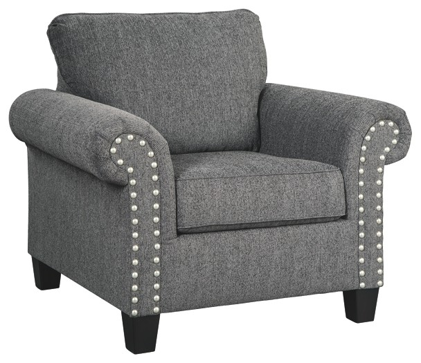 Agleno  Charcoal  Chair  7870120  Chairs  Pruitts