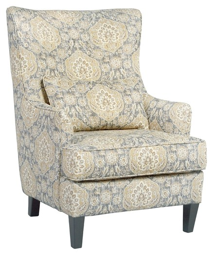 accent wingback chairs cherry dining modern aramore fog chair 1280522 furnish 123