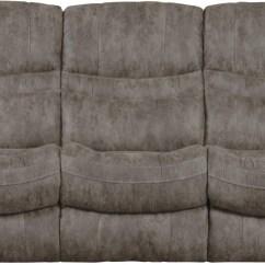 Triple Reclining Sofa Long Bar Table Valiant Marble W Drop Down 14045
