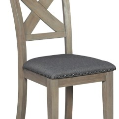 Modern Gray Dining Chairs Wheelchair Parts Name Aldwin Dark Uph Side Chair 2 Cn D617 01