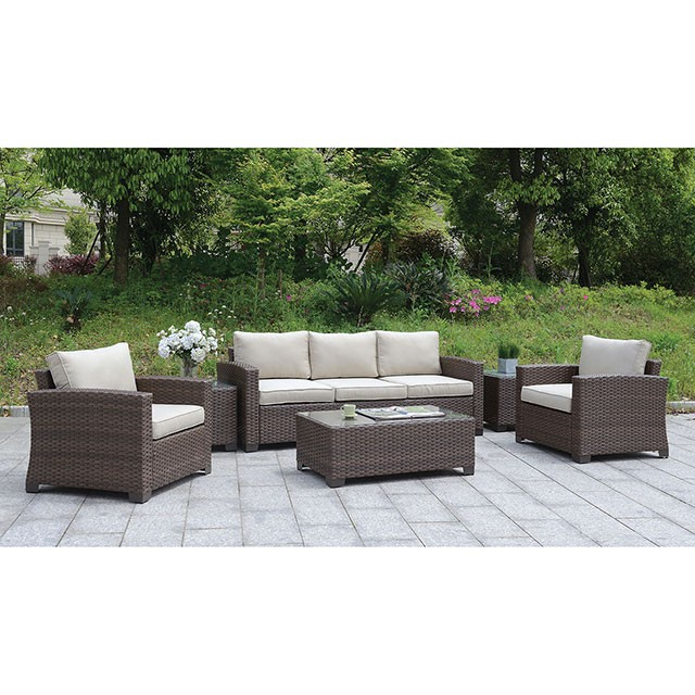 brindsmade 6 pc patio set w coffee table 2 end tables