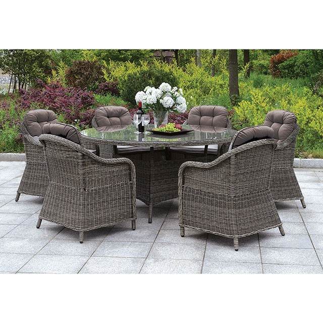 canistota 59 round patio table