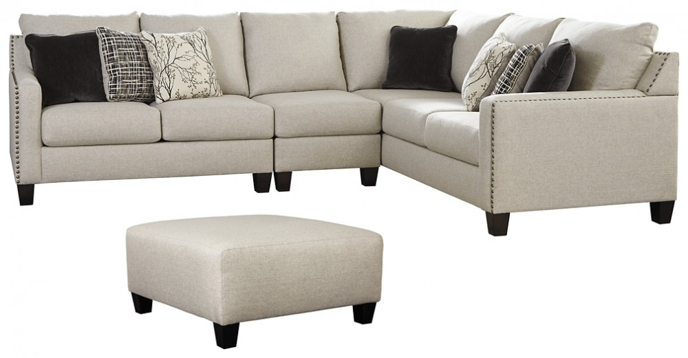 hallenberg 3 piece sectional with ottoman