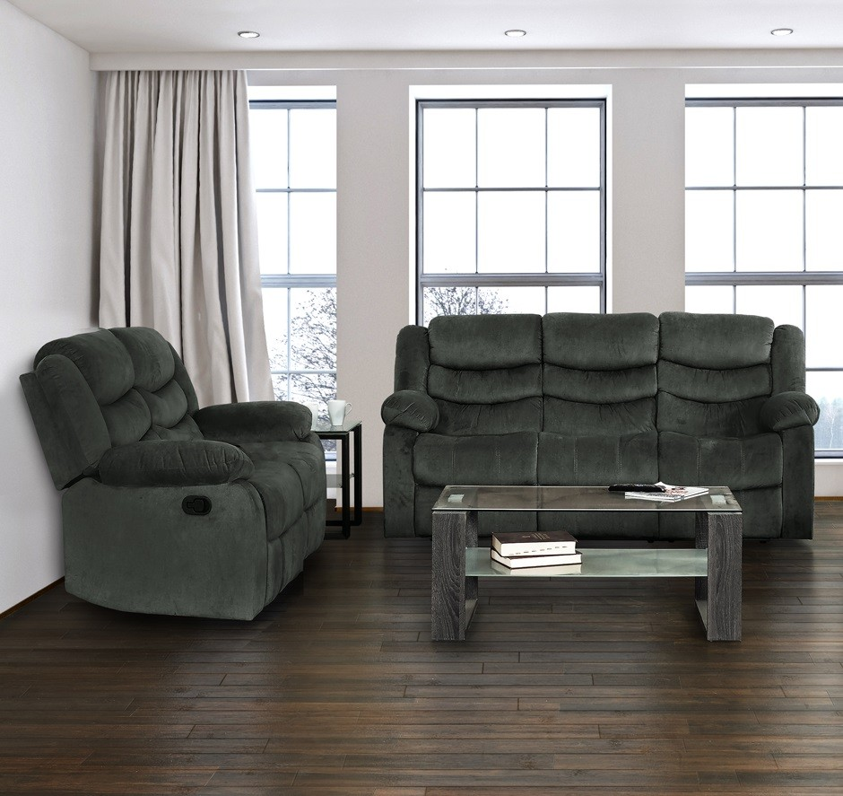 barron grey reclining sofa love