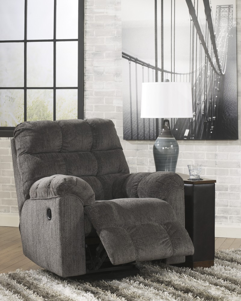 Swivel Rocker Recliner Chair Acieona Slate Swivel Rocker Recliner