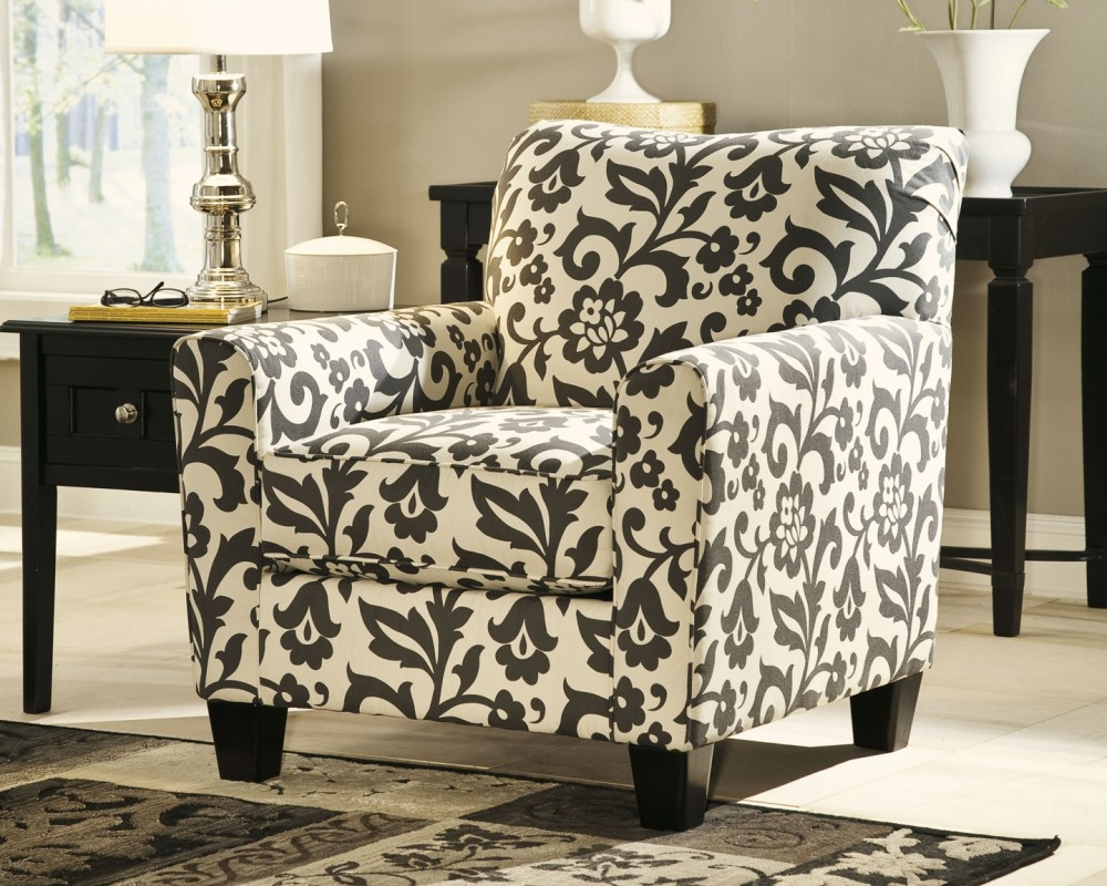 Levon Charcoal Accent Chair 7340321 Chairs