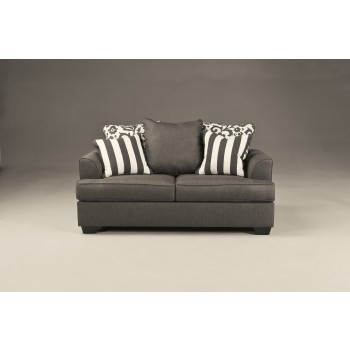 Levon Charcoal Loveseat 7340335 Love Seats