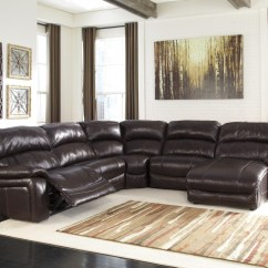 6 Piece Living Room Set The Best Rugs Damacio Dark Brown Pc Raf Press Back Chaise Sectional