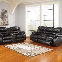 Durablend Sofa Elegant Sectional Sofas Linebacker Black Reclining Loveseat 95202 88