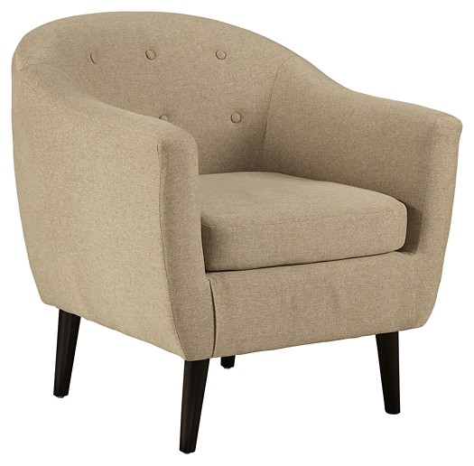 Chair Coverings Klorey Khaki Accent Chair