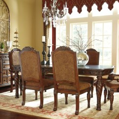 Upholstered Chairs For Dining Room Cheap Dxracer Chair North Shore Rect Ext Table 4 Uph Side 2 Arm Groups Texas Discount Furniture